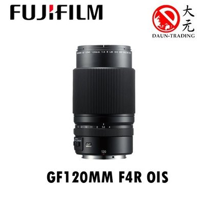 *大元 高雄*【平輸最優惠】FUJI  富士 GF120mm F4 LM OIS WR MACRO 微距鏡