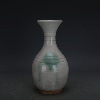 ㊣姥姥的寶藏㊣ 唐代邢窯白釉點彩手工瓷玉壺春瓶  出土古瓷器古玩古董收藏品