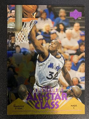 Shaquille O'Neal 1995-96 Upper Deck All Star Class