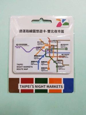 捷運路線圖悠遊卡-雙北夜市篇(英)-200403