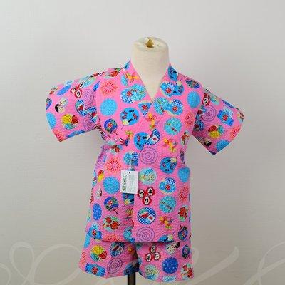 日本童裝 日本製 童玩 金魚 泡泡綿 浴衣/ 甚平/兒童和服#90#95#100#110#120 空運~小太陽日本精品