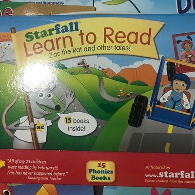 全美語幼教用書 Starfall Learn to Read 15書
