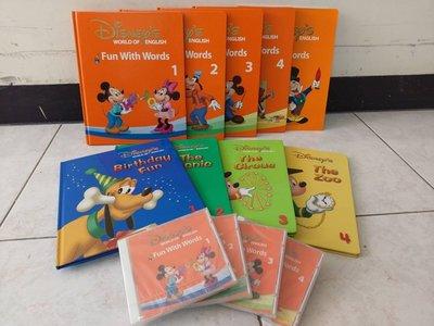 寰宇迪士尼美語 米奇趣味互動學習 fun with words + fun and games  寰宇家庭 Disney