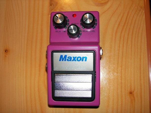 《民風樂府》日本製 Maxon DELAY 延遲音經典 AD-9 電吉他效果器 僅此一顆
