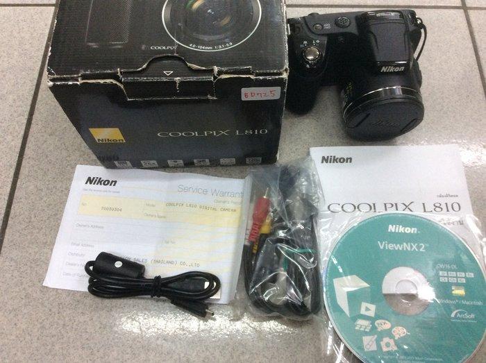 [保固一年] [明豐相機 ] NIKON L810 類單眼 公司貨 功能都正常 便宜賣 p600 p510 b700