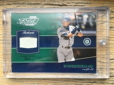 2002 PLAYOFF Piece of the Game Game-Used Base 鈴木一朗壘包卡