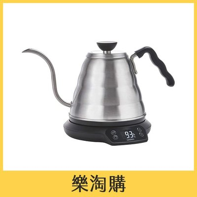 [樂淘購] Hario EVKT-80HSV 電熱水壺 快煮壺 0.8L 手沖咖啡壺 溫度調整