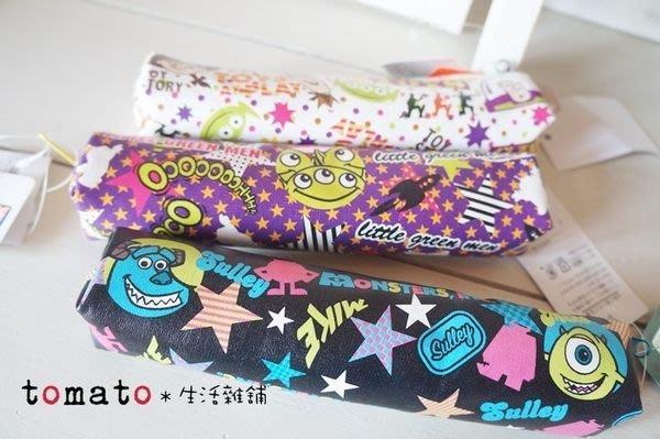 ˙TOMATO生活雜鋪˙日本進口雜貨迪士尼玩具總動員巴斯光年大眼仔毛怪三眼怪筆袋