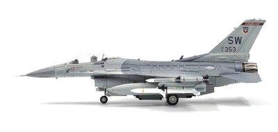 新風小鋪-Calibre Wings美國空軍1/72 F-16 F16合金成品飛機模型擺件