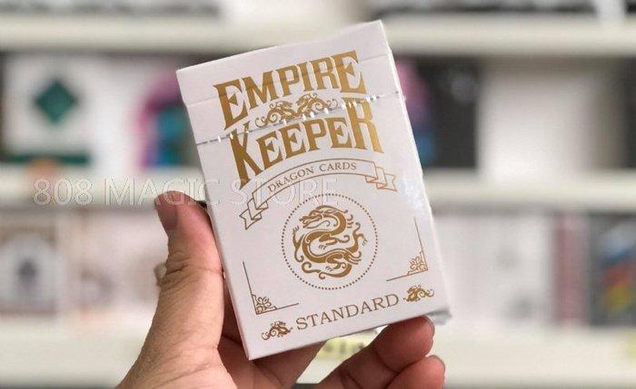 [808 MAGIC]魔術道具 Empire Keeper 龍牌 (Foil Gold Edition) 白金 款式