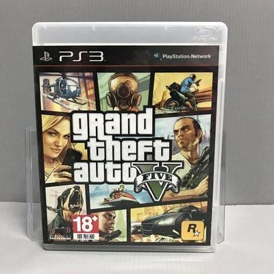 【飛力屋】出清特賣 PS3 俠盜獵車手 5 GTA5 Grand Theft Auto V 中英文版 盒書完整 有地圖