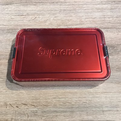 ~MASS~2018 S S SUPREME SIGG™ METAL BOX PLUS LARGE 便當盒 春夏 大
