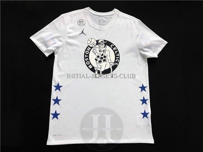 NBA2019全明星賽球衣 塞爾堤克隊 Kyrie Irving 歐文 白色T恤