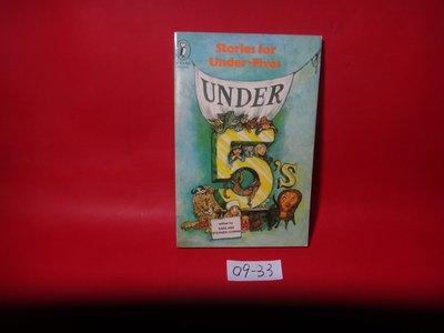【愛悅二手書坊 09-33】 Stories For Under- Fives