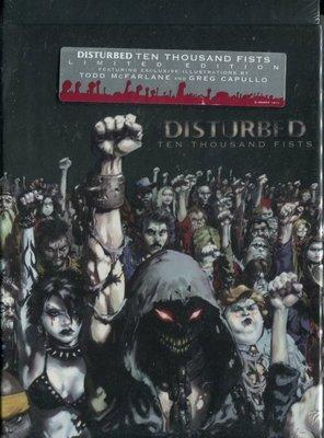 【嘟嘟音樂2】騷動樂團 Disturbed - 忿怒之拳 Ten Thousand Fists   (全新未拆封)