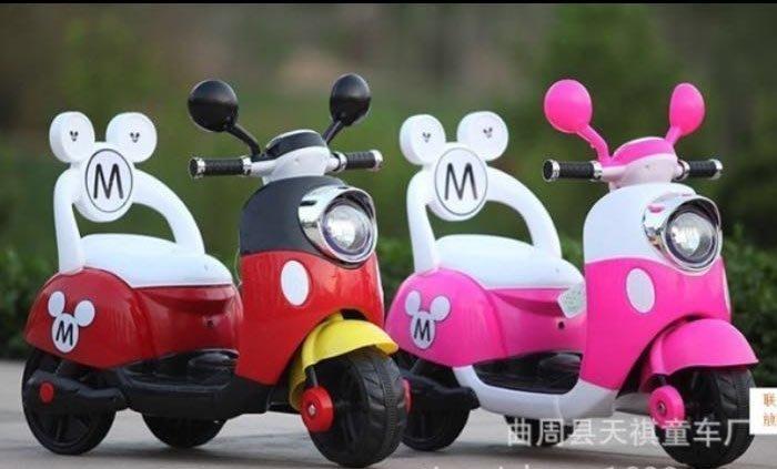 佳佳玩具 ----- 米奇 米妮 電動 機車 電動車 電動三輪車 摩托車 台灣製 電池 小電瓶 零件 下標區 【52668-4】