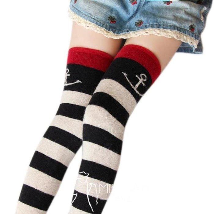 及膝襪-日系秋冬季兔羊毛襪套女護膝長筒襪羊絨過膝襪保暖堆堆襪高筒襪子-  尚美優品