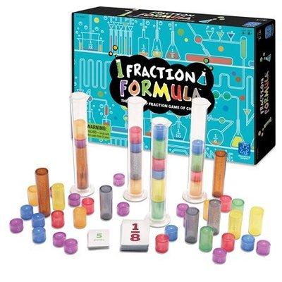 ~❤美國寶寶的衣櫥❤~(獨家現貨)美國Fraction Formula Game 分數公式桌遊 數學桌遊 數學教育