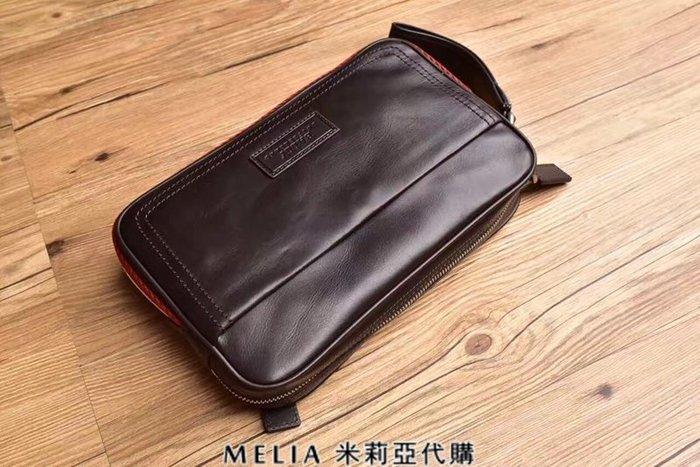 Melia 米莉亞代購 bally 貝利 2108新款 春季新品 男士款 真皮 牛皮 手拿包 公事包 咖啡色