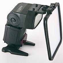 呈現攝影-閃光燈專用柔光板,反光板、反射板有綁帶式固定設計 可360度旋轉 活動SHOW GIRL