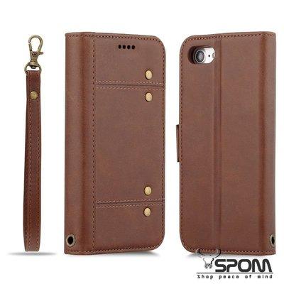 IPhone X 10 IX 分離二合一 牛皮仿製真皮 手機殼皮套保護套保護殼 側翻蓋側掀左右翻 多插卡層支架N0497