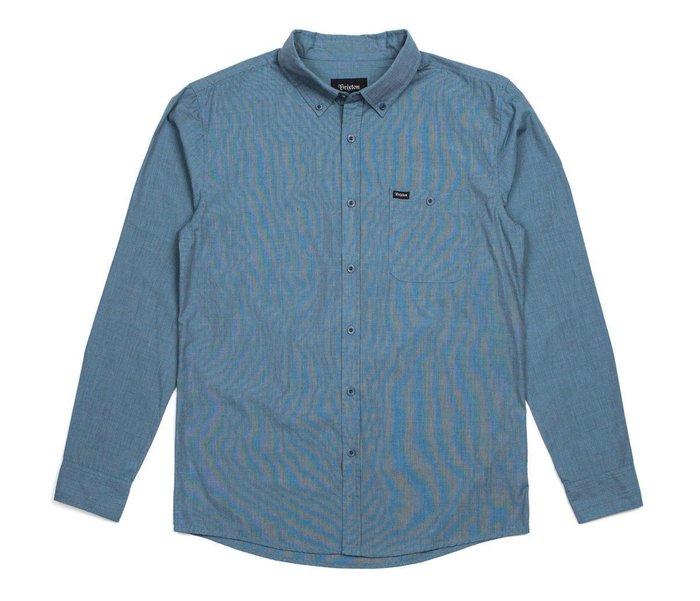 [JIMI 2] Brixton - Central 長袖素面襯衫 加州質感品牌 滑板核心店鋪指定販售 衝浪