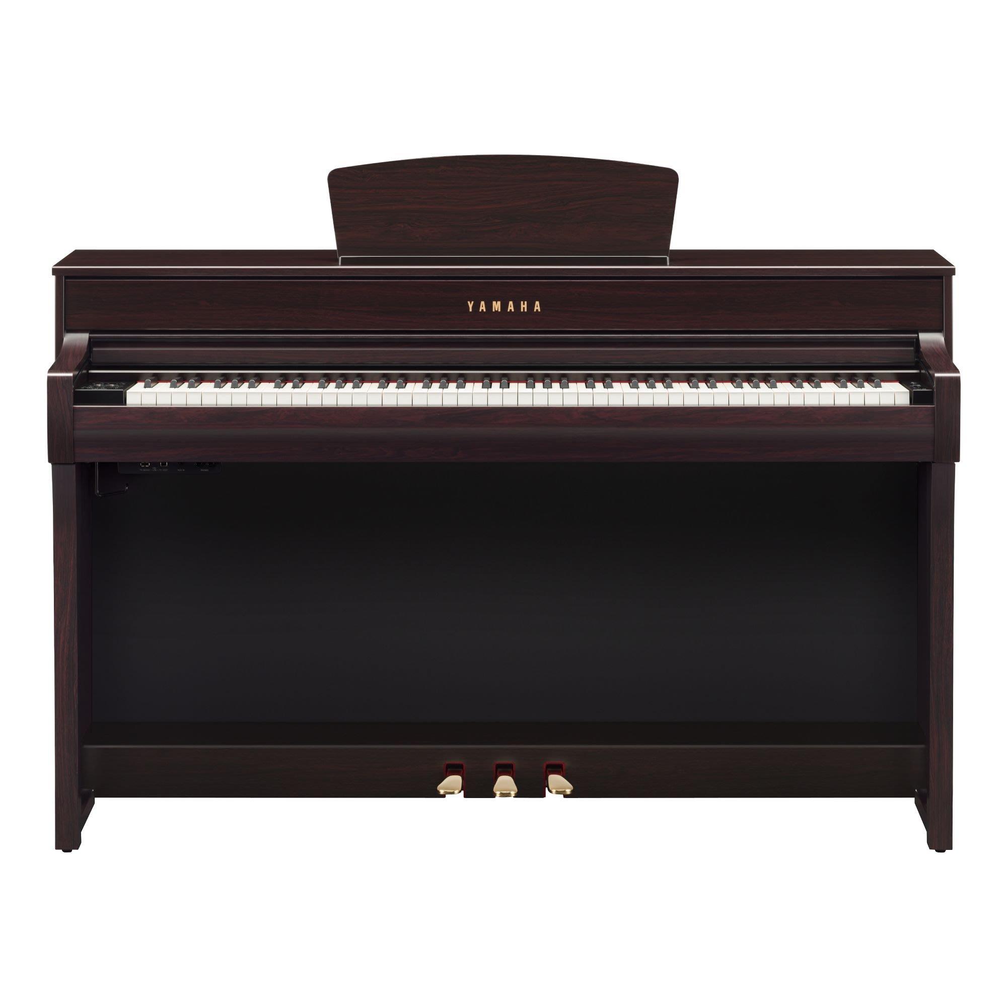 【藝苑樂器】YAMAHA數位鋼琴CLP-735R~最新上市~有現貨~店面有展示可試彈~全省免運費並幫您組裝~
