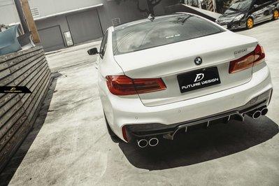 【政銓企業有限公司】BMW G30 530 540 550 升級 F90 M5 1:1 後下巴 原廠PP材質 M包 專用
