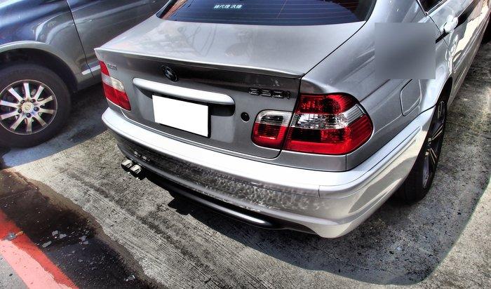DJD19072648 BMW E46 M-TECH款 4門 4D 後保桿 PP材質 素材