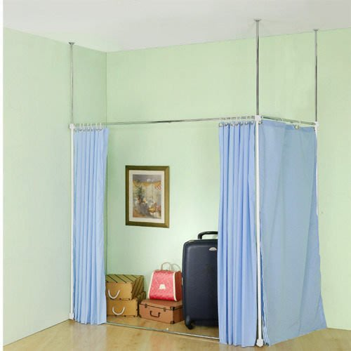 【中華批發網DIY家具】S-18-06-L型/一字型伸縮防塵屏風(AL70*105/AH70*105  )※共有2種組法※