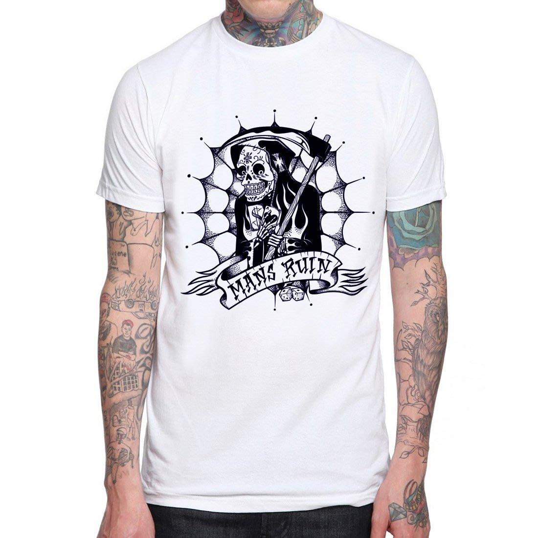 【Dirty Sweet】Mans Ruin短袖T恤-9色 hot rod tattoo刺青硬派搖滾西岸滑板街頭390