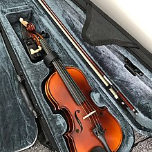 1/8 Splendour小提琴連盒、弓、松香及肩托Violin with Case, Bow, Rosin and Shoulder Rest 只售450 元