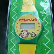 全新1994年 SANRIO TOKYO 出品馬騮仔電子錶 已沒電 MONKICHI WATCH