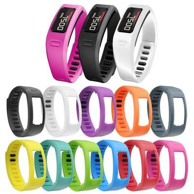小胖 佳明 Garmin Vivofit 1 繽紛糖果色矽膠智能手環錶帶 vivofit1 優質材質 佩戴舒適 替換腕帶