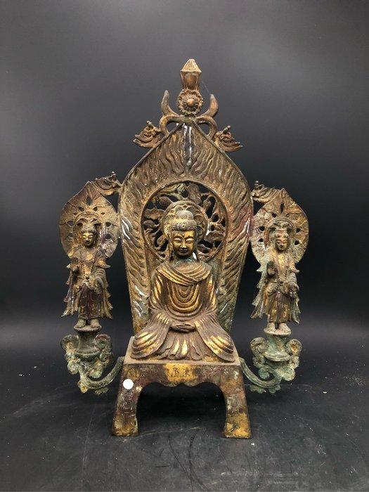 藏古院-青銅鎏金佛