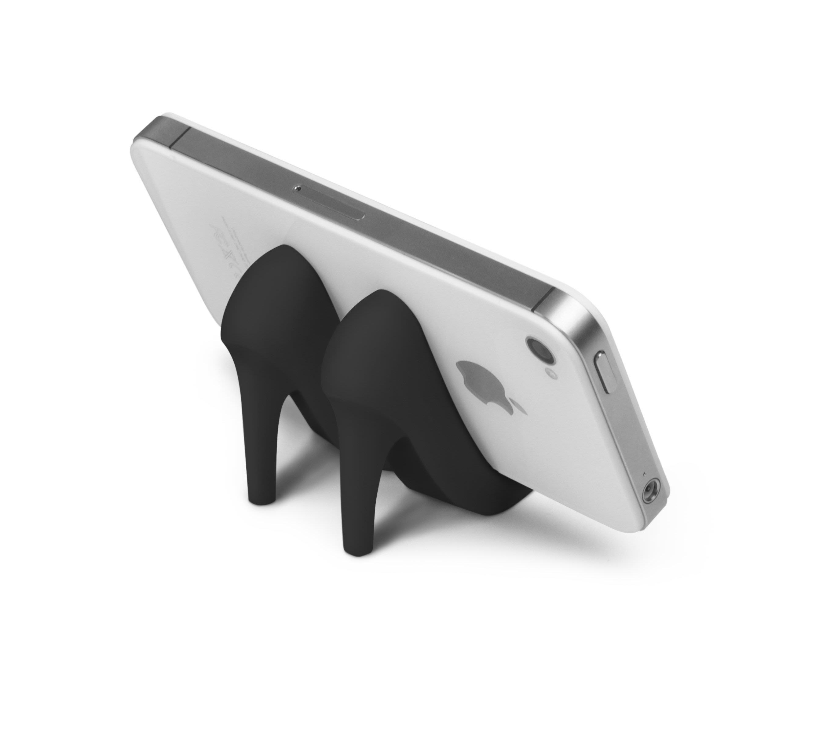 美國Fred & Friends黑色魅力高跟鞋手機座(A Fashionable iphone Stand)