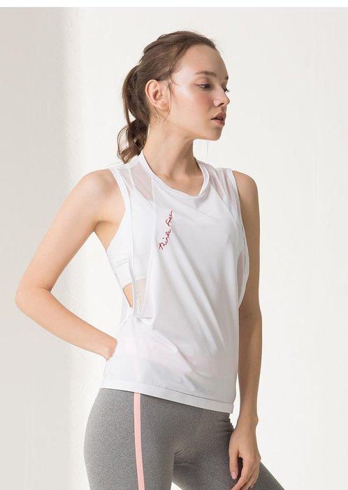 女,罩衫,運動瑜伽,透氣,鏤空,美背,網眼  【柔依衣坊-運動館 Zoe Sport Shop】#C02T12