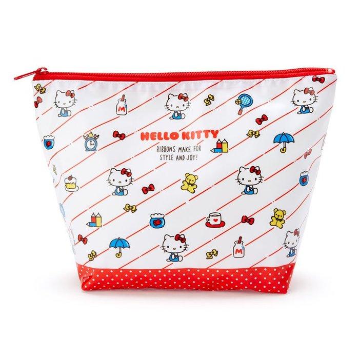 日本三麗鷗 化妝袋 收納袋 L
