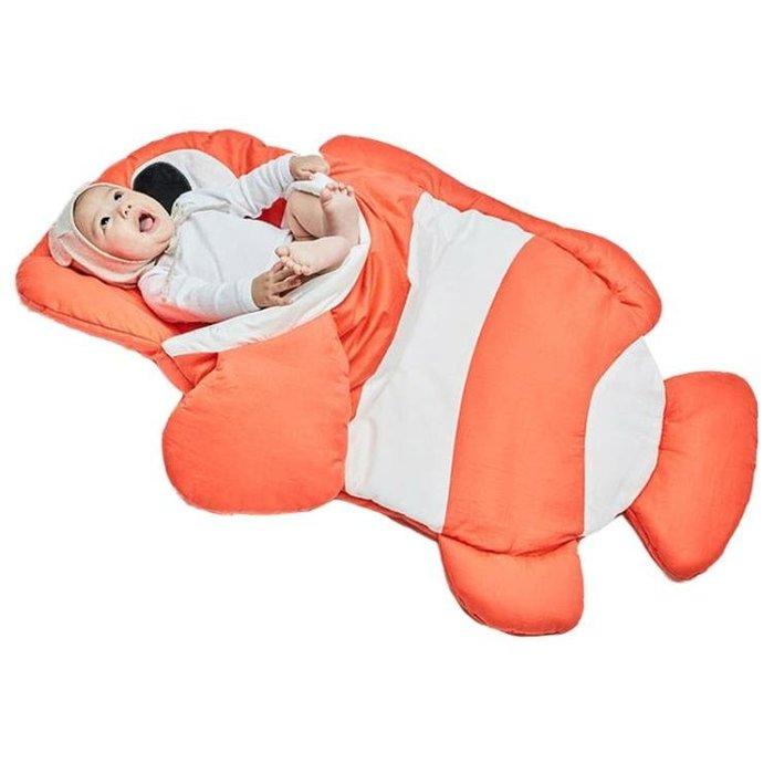 嬰兒睡袋抱被新生兒秋冬季防踢被春秋薄款四季寶寶被子