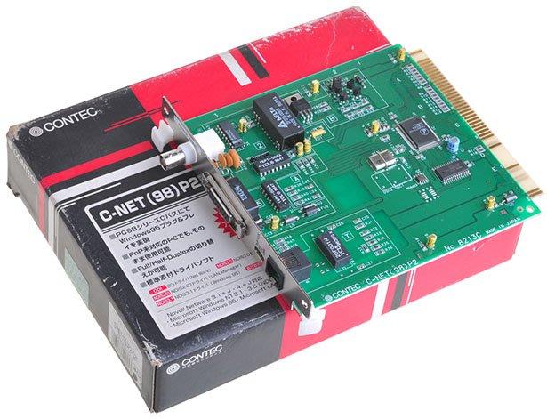 【KC.PLC_FA 】CONTEC  C-NET(98) P2-52T 機板
