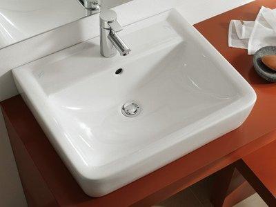 FUO衛浴: 德國品牌KERAMAG PLAN 55公分陶瓷盆特價出售