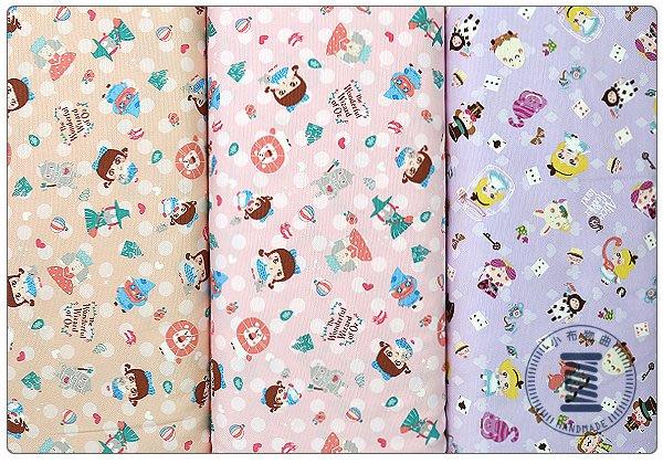 ✿小布物曲✿童話系列-5綠野仙蹤窄幅110CM 日本進口100%純棉布料(厚) 共3色 單價/尺