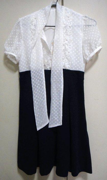 短袖連身裙 洋裝