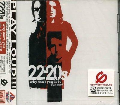 K - 22-20s - Why Don't You Do It for Me - 日版 - NEW