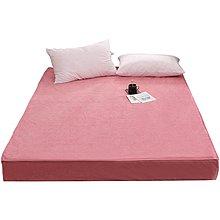 床笠單件燈芯絨床罩席夢思保護套隔尿透氣防塵罩床墊套防滑【優品城】