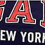 GAP 短袖T恤 女生 NEW YORK城市LOGO