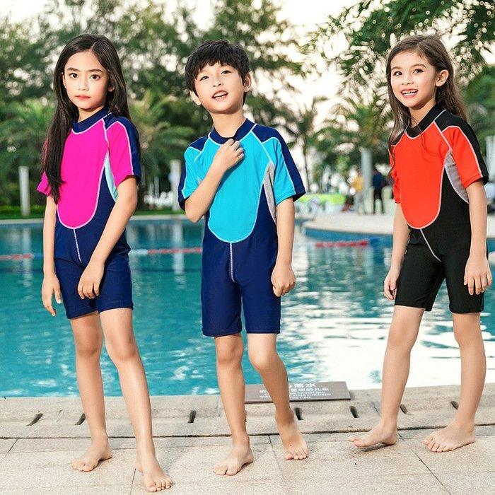 [舒漫]2003泳衣兒童泳衣泳褲潛水衣連身泳衣生男生2826寶寶泳衣