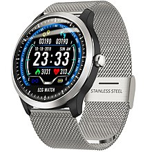 Sante 心電圖實時監測及報告血壓心率智能手錶 SN8 配鋼帶 (順豐包郵)