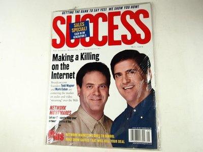 【懶得出門二手書】 全新英文雜誌《SUCCESS》Making a Killing on the Internet │ (21C21)