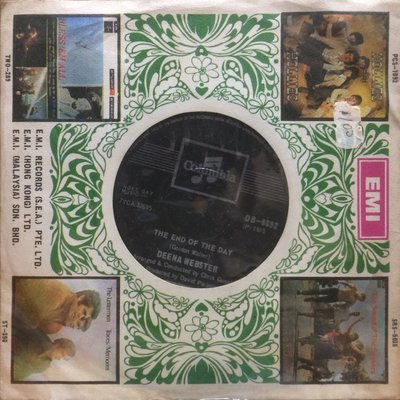 "LP 黑膠唱片 Deena Webster Things Men Do / The End Of The Day 100% Brand New 7"" EP"